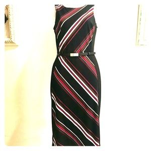 White House Black Market Striped Dress